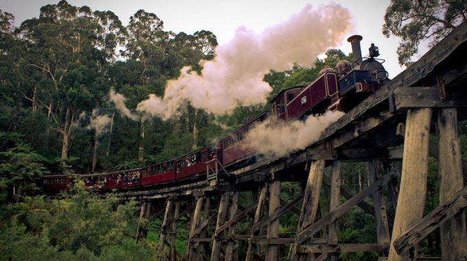 Puffing Billy - Train From Melbourne To Gembrook