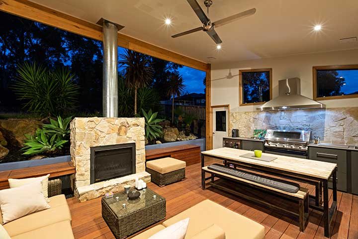 Custom Outdoor Living - Alfresco - Mcleod