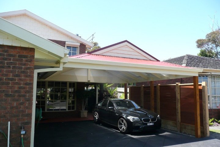 Custom Outdoor Living - Carport - Dingley Village