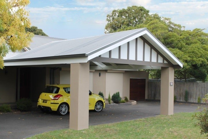 Custom Outdoor Living - Carport - Mt. Eliza