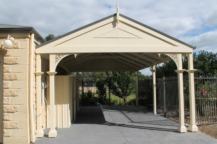 Custom Outdoor Living - Carport - Templestowe