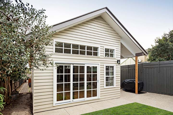 Custom Outdoor Living - Single Storey Extension - New Port